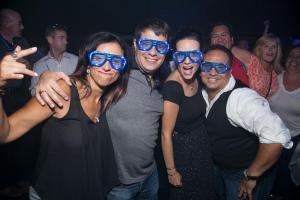 Blue Glasses - Haze Nightclub - IM One Fall 2014
